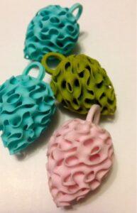 3D-tulostettuja avaimenperiä